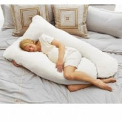 Today's Mom Cosy Comfort Pregnancy Pillow, White