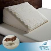 Comfort Dreams Personal-Size Memory Foam Bed Wedge