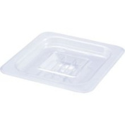 Winco SP7600S 1/6 Size Polycarbonate Food Pan Solid Cover