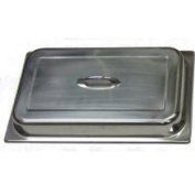 Winco C-DCF Dome Cover w/Handle Full Size Stainless