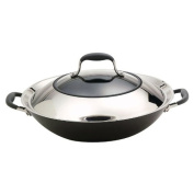 Anolon Advanced 35.6cm Covered Wok, Stir and Fry Pan