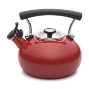 Circulon Contempo Teakettle 1.9l Whistling Enamel Red 1.9l