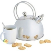 Demeyere Resto 2.5l Stainless Steel Whistling Tea Kettle