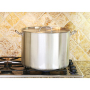 514 Prime Pacific Heavy Duty Stainless Steel Stock Pot with Lid 35-Quart