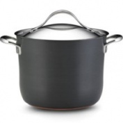 Anolon 7.6l. Nonstick Nouvelle Copper Covered Stockpot. 82520