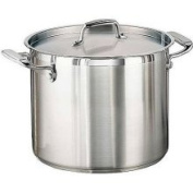 Tramontina 80120/000DS Tramontina Gourmet Stainless Steel Covered Stock Pot, 11.4l