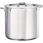 Tramontina 80120/003DS Tramontina Gourmet Stainless Steel Covered Stock Pot, 22.7l