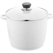 Berndes 697614 SignoCast Pearl Ceramic Coated Cast Aluminum 7 Quart Covered Stock Pot