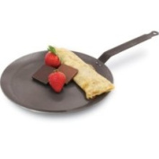 World Cuisine A4172524 24.1cm Carbon Steel Crepe Pan
