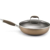 Anolon Advanced Bronze Covered Deep Skillet, Hard Anodized Nonstick 12