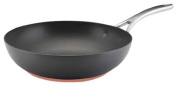 Anolon Nouvelle Copper Hard Anodized Nonstick 30cm Open Stir Fry
