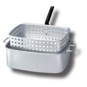King Kooker 14.2l. Aluminium Rectangular Fry Pan and Basket
