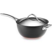 Anolon 5.2l. Nonstick Nouvelle Copper Covered Saucier Pan. 82527