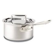 All-Clad 1.4l. D5 Brushed Sauce Pan with Lid