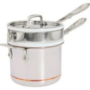 All-Clad Copper-Core Porcelain Double Boiler Insert