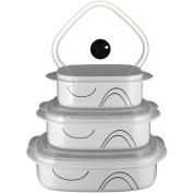 Reston Lloyd 20136 Shadow Iris - Microwave Cookware Set
