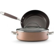 Anolon Advanced Bronze Collection Hard Anodized Nonstick Cookware Gift Set 3-Piece 3-Piece