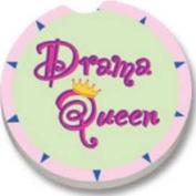 Drama Queen Car Coaster Single