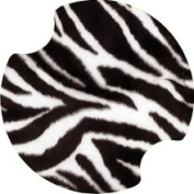 Set of Two Zebra Print Thirstystone Carster Car Coasters