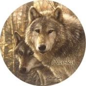 Set of Four Woodland Companions/ Alaska Coasters
