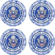 Set of Four Air Force Occasion Coasters
