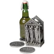 Design Toscano Mediaeval Norman Warriors Coaster Set