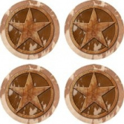 Set of Four Texas Lone Occasion Coasters
