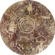 Thirstystone TS2061 Natural Sandstone Coaster Set Petroglyph