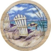 Thirstystone TS2022 Natural Sandstone Coaster Set Summer Breeze