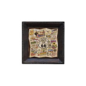 Thirstystone AUDX1 Absorbent Coaster Set Route 66- Bronze