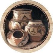 Thirstystone TS2179 Natural Sandstone Coaster Set Three Pots
