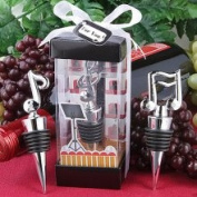 Fashioncraft Music Themed Bottle Stopper Wedding Favours