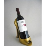 Wild Eye Designs - Gold Design - Wine Bottle Holder