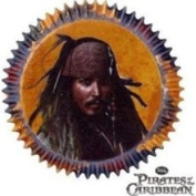 Wilton Industries Pirates of The Caribbean Baking Cups Standard