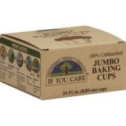 If You Care Baking Cups, Unbleached, Jumbo - 24 cups