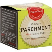PaperChef Culinary Parchment Baking Cups, Mini - 90 cups