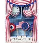 Meri Meri Stars & Stripes Cupcake Kit