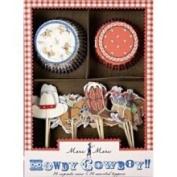 Howdy Cowboy Cupcake Kit | 48pc