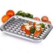 Norpro 17x12 Stainless Steel Broil and Roast Set 43.2cm 274