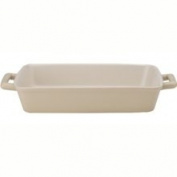 Harold Import Company HIC Ceramic Lasagna Dish, 33cm x 22.9cm Wheat White