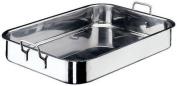 World Cuisine 11943-40 - Roasting Pan w/ Dual Fixed Handles, 10.25 x 1