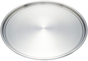 Maxam 12-Inch Stainless Steel Pizza Baking Pan KTBKPZ