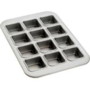 Fat Daddio's 12 Cup Square Muffin Pan MFN-SQR