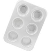 Fat Daddio's MFN-FD Aluminium Jumbo Muffin Pan 6 Cup