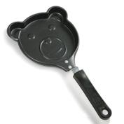 """Norpro Non Stick Pancake Pan Teddy Bear Shape Fun For Kids 10.5""""/26.5cm 953"""