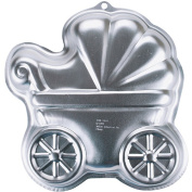 """Wilton Cake Pans Novelty Baby Buggy 11 1/4""""X11 1/4""""X2"""" W2105CP-3319"""