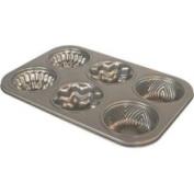 Fox Run Craftsmen Non-Stick 6-Cup Decorative Cake Pan