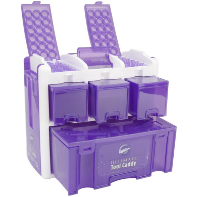 Ultimate Tool Caddy 32cm X 36cm X8 Quot Purple By Wilton