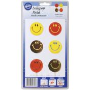 Lollipop Mould-Smiley Faces 10 Cavity