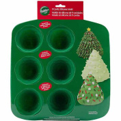 Wilton Silicone Mould-3D Tree 9 Cavity